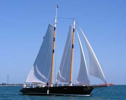 Photograph of yacht America 2.0